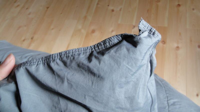 アレルガードの3重縫製