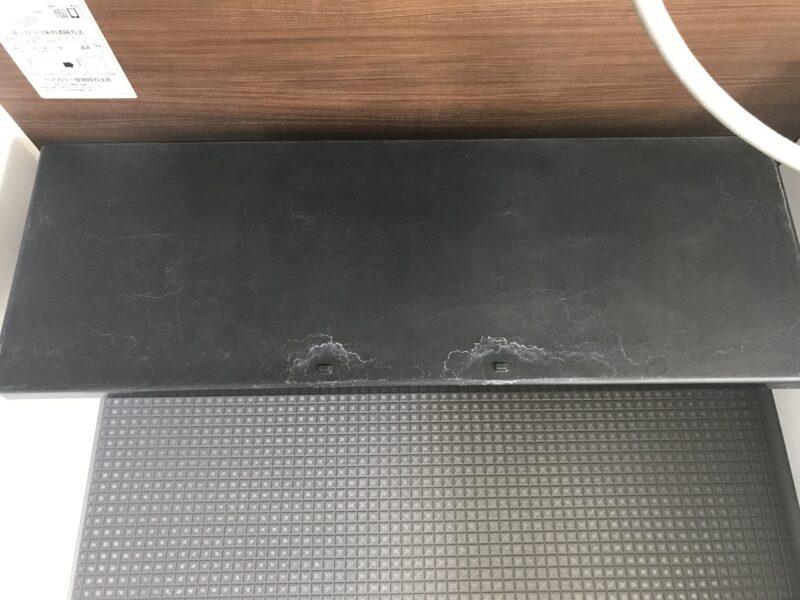 黒のお掃除ラクラクカウンター