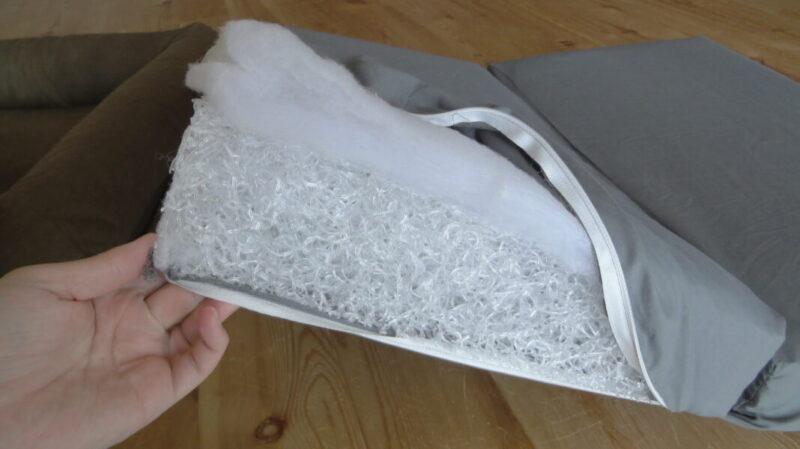 エアー素材の洗える底材